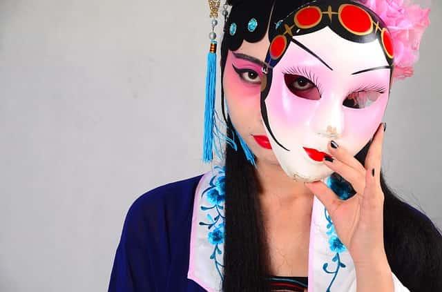 中国イメージ女性