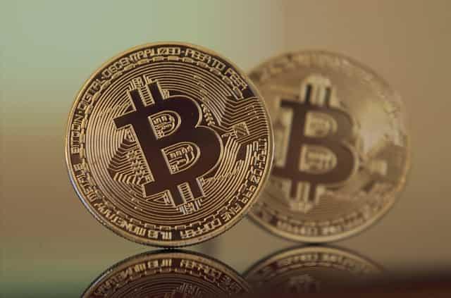 仮想通貨のイメージ(ビットコイン)