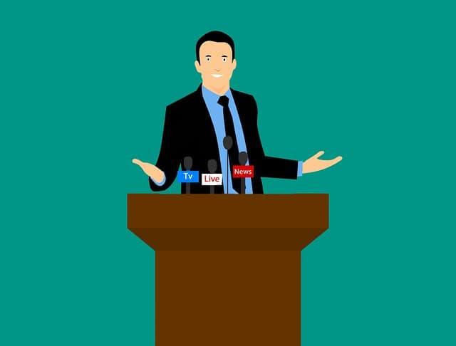 記者会見の様子イメージ