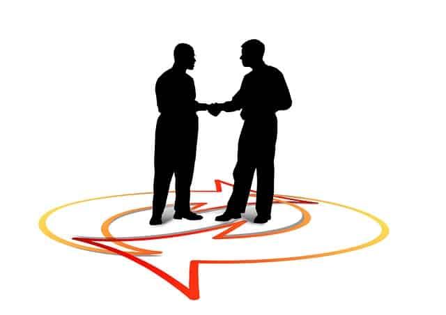 共同開発イメージ握手