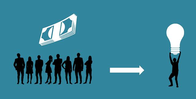 ICO資金調達のイメージ