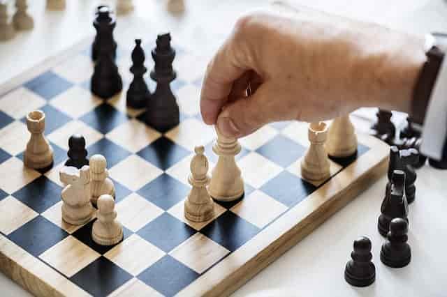 ロシアのイメージでチェス