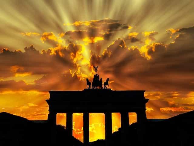 ドイツイメージでブランデンブルグ門