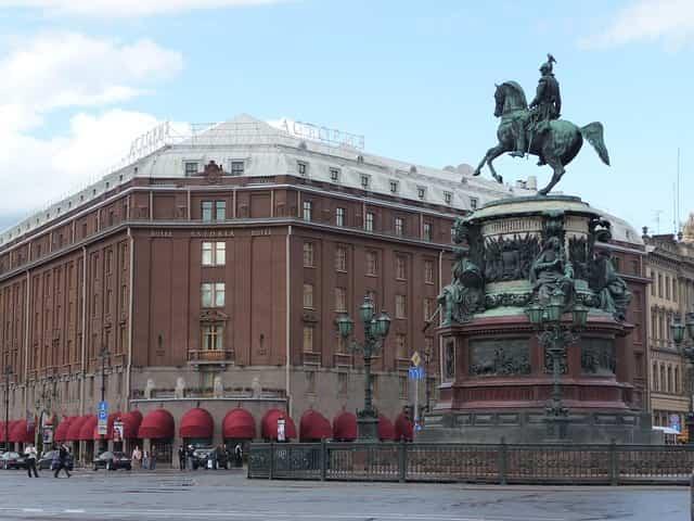 ロシアのサンクトペテルブルグのホテル