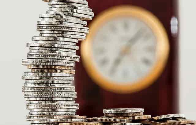金貨銀貨と時計