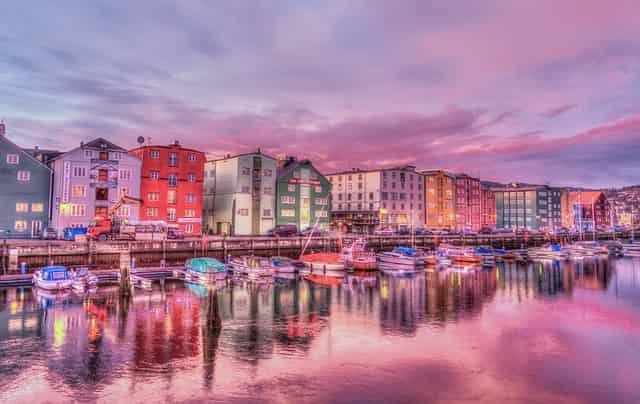 ノルウェーの港町