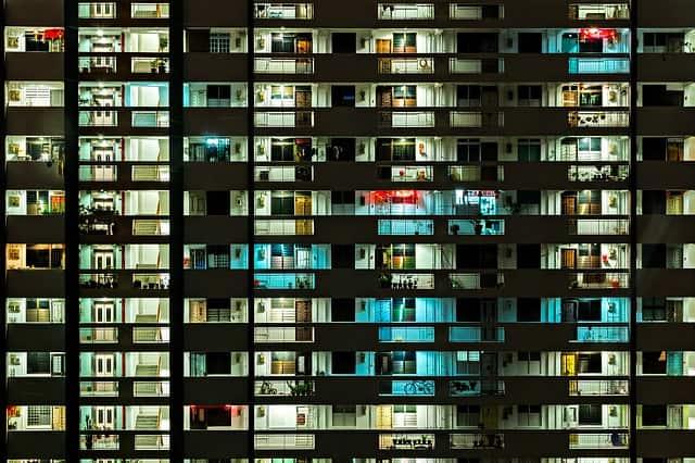 シンガポールのとあるマンション